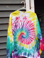 Candy Tie Dyed Women's Long Sleeve T-shirt