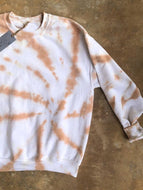 Tie-dye Crew Neck Casual Sweatshirt