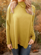 Pure Color Casual Sweater