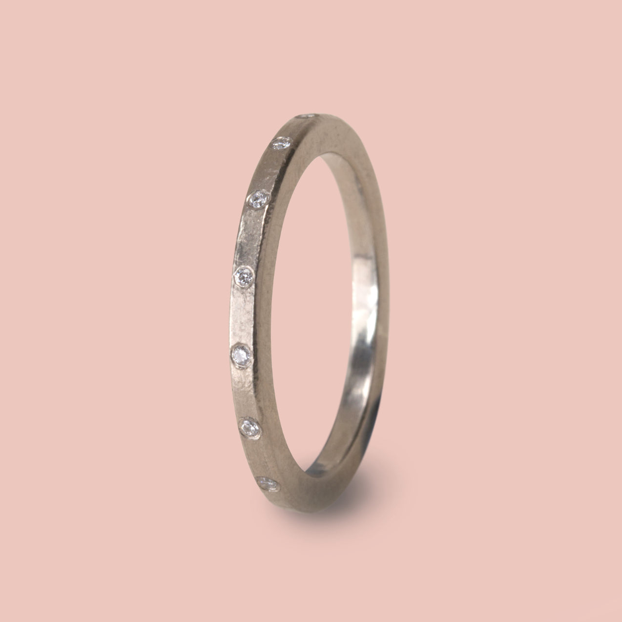 Celestial Ring - White Gold