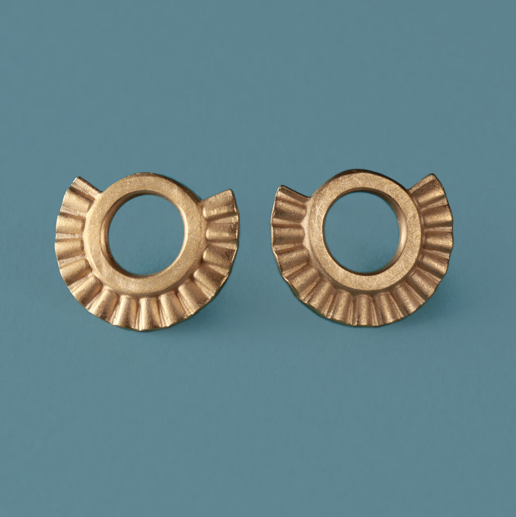 Sunray Earrings - Gold Plated