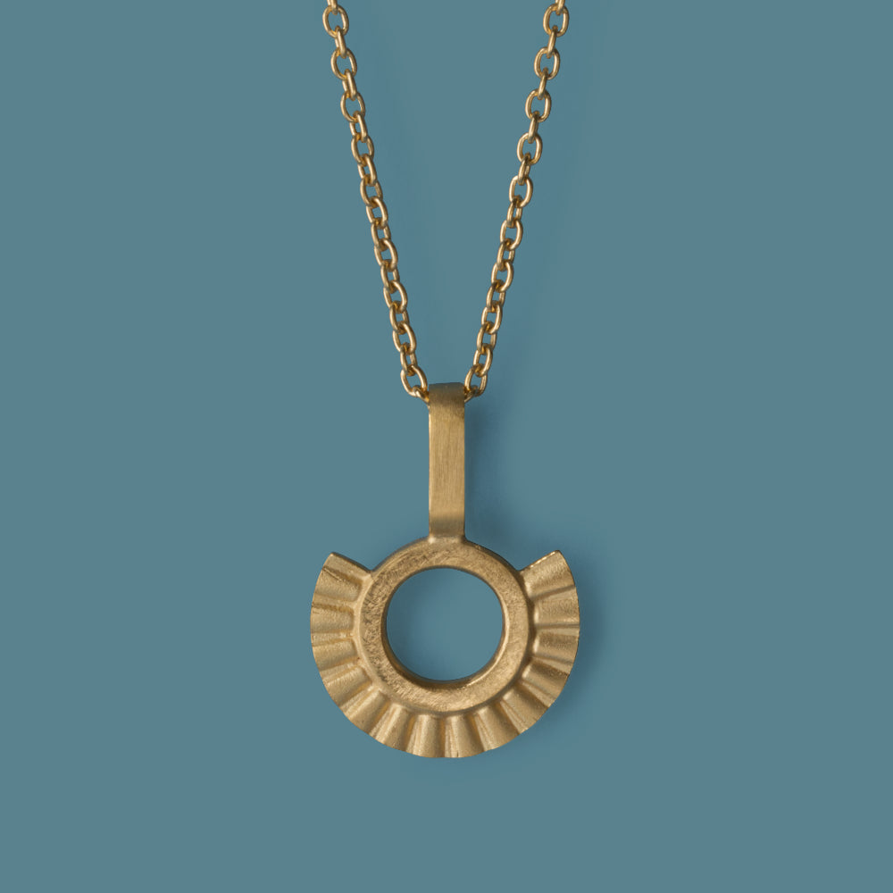 Sunray Necklace - Gold Plated