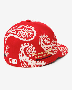 (RED) WCKDTHGHTS / NEW ERA PAISLEY FITTED'S