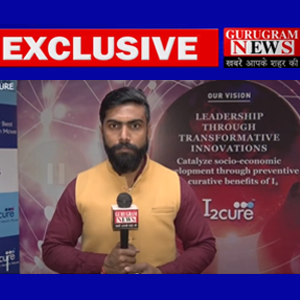 Mr. Menon, Director of i2Cure Pvt Limited in an exclusive interview with Gurugram News