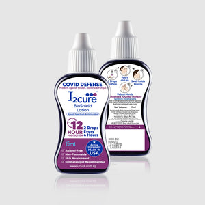 I2Cure BioShield Lotion (15mL) Pack of 2