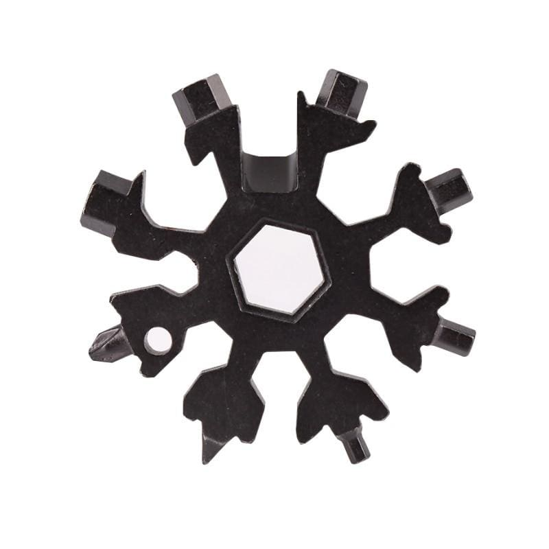 18-in-1 snowflake multi-tool - b - outdoor tools