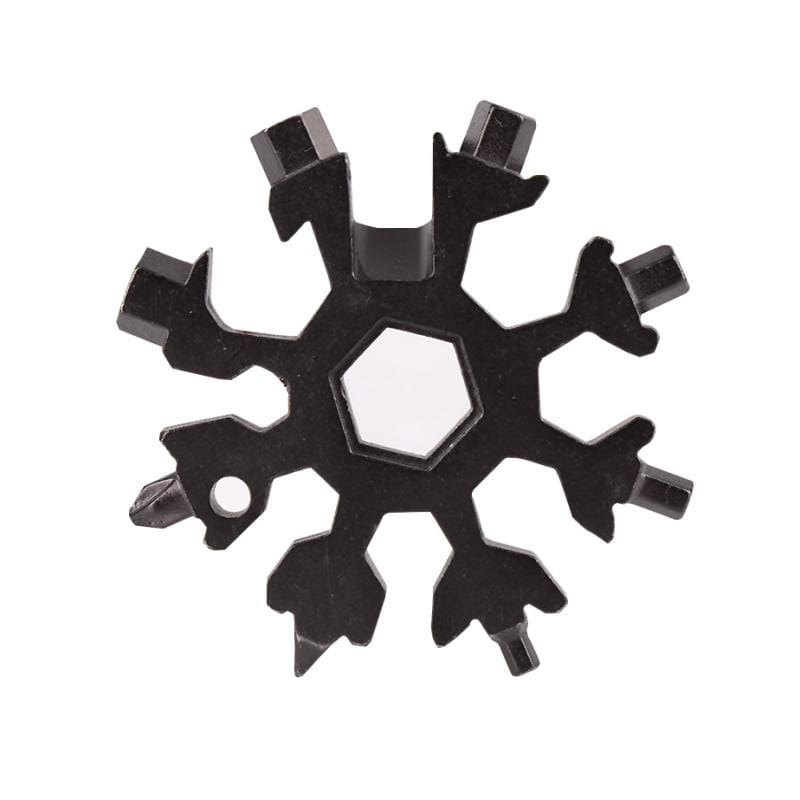 18-in-1 snowflake multi-tool - outdoor tools