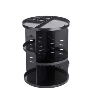 360 degree makeup organizer - black - furniture accessories