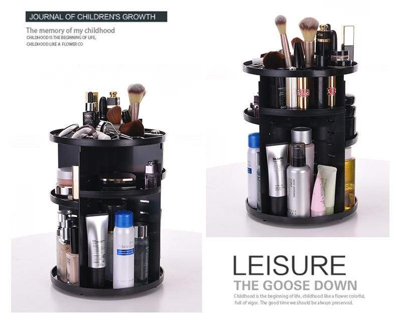 360 degree makeup organizer - furniture accessories