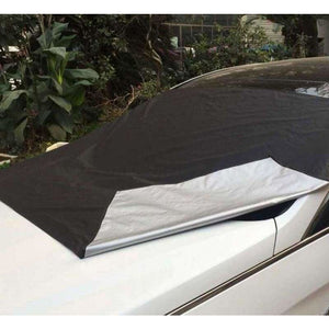 Amazing smart windshield cover - black / one size - car