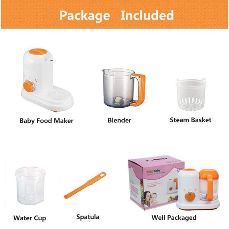 Baby food maker just for you - baby food blender