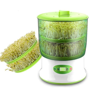 Bean sprouts machine - two layers - home kitchen appliances