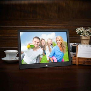 Best digital photo album 12-inch - black / eu plug - frames