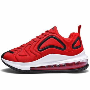 Breathable shoes for men and women - red / 12 - boost