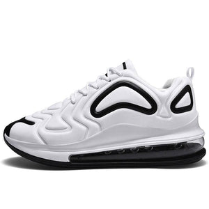 Breathable shoes for men and women - white black / 5.5 -