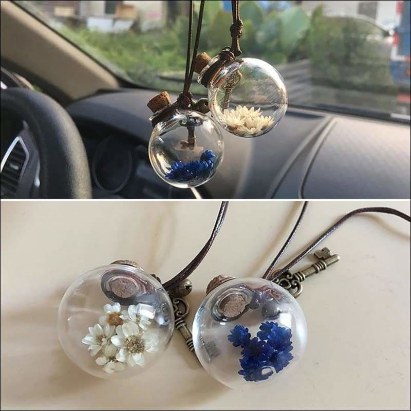 Car perfume container - ornaments