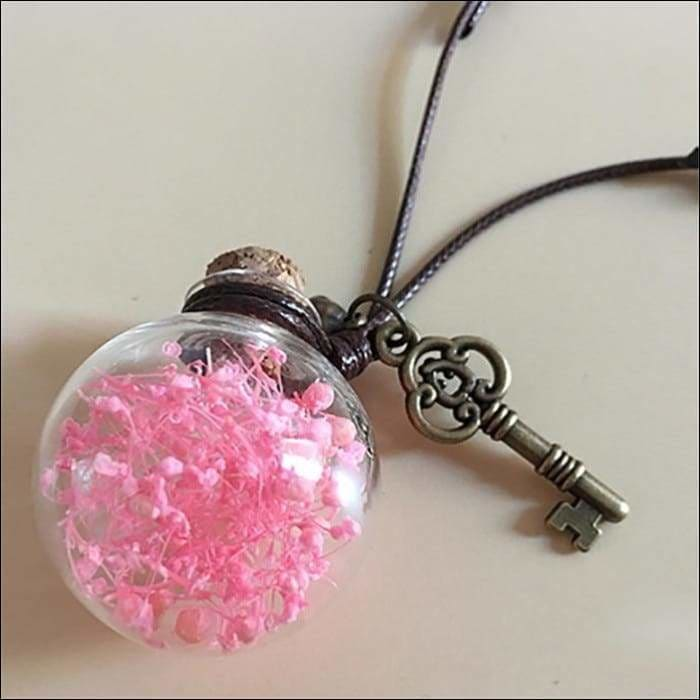 Car perfume container - pink - ornaments