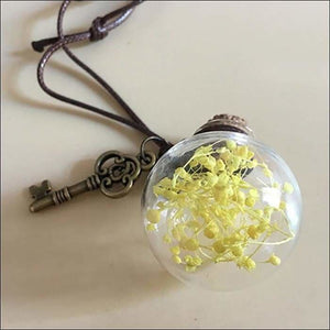 Car perfume container - yellow - ornaments
