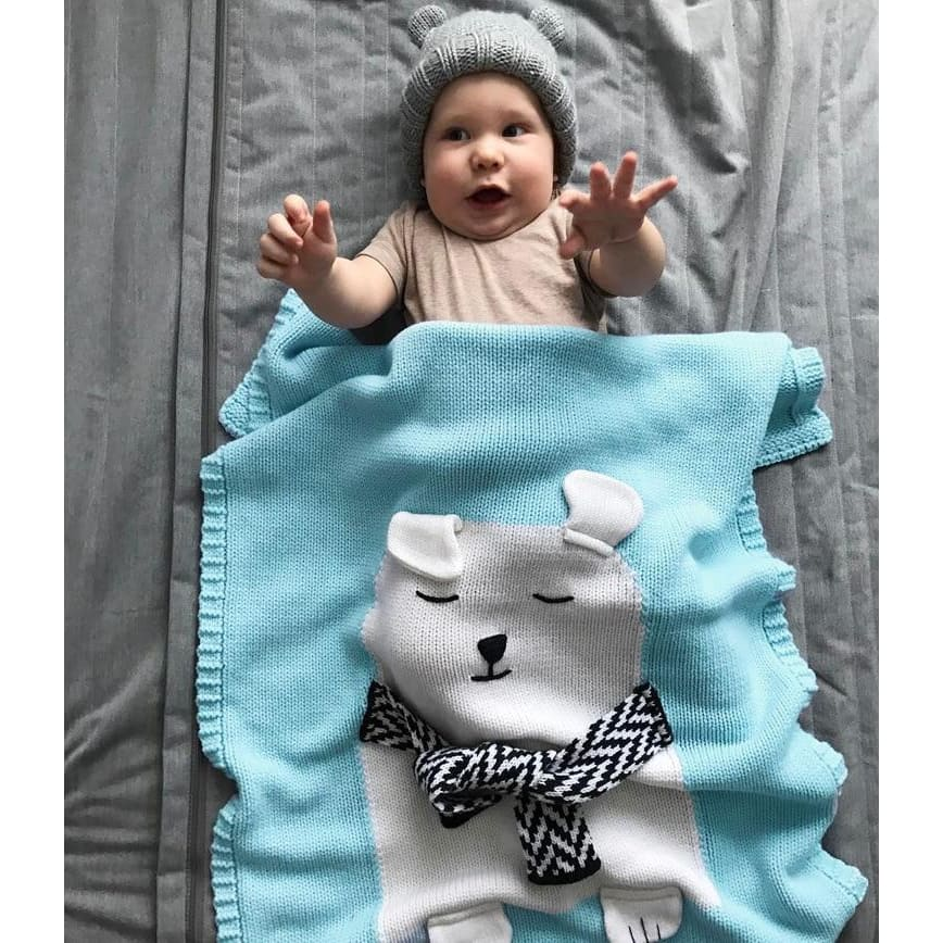 Cartoon baby blanket throws - blankets