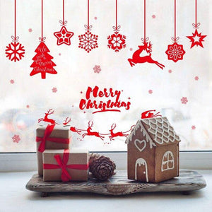 Christmas wall stickers - no.13 - decoration