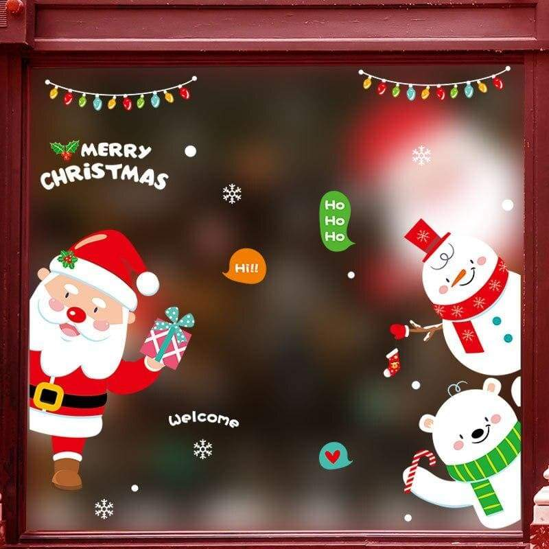 Christmas wall stickers - no.20 - decoration
