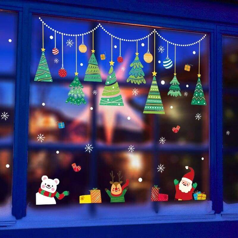 Christmas wall stickers - no.4 - decoration
