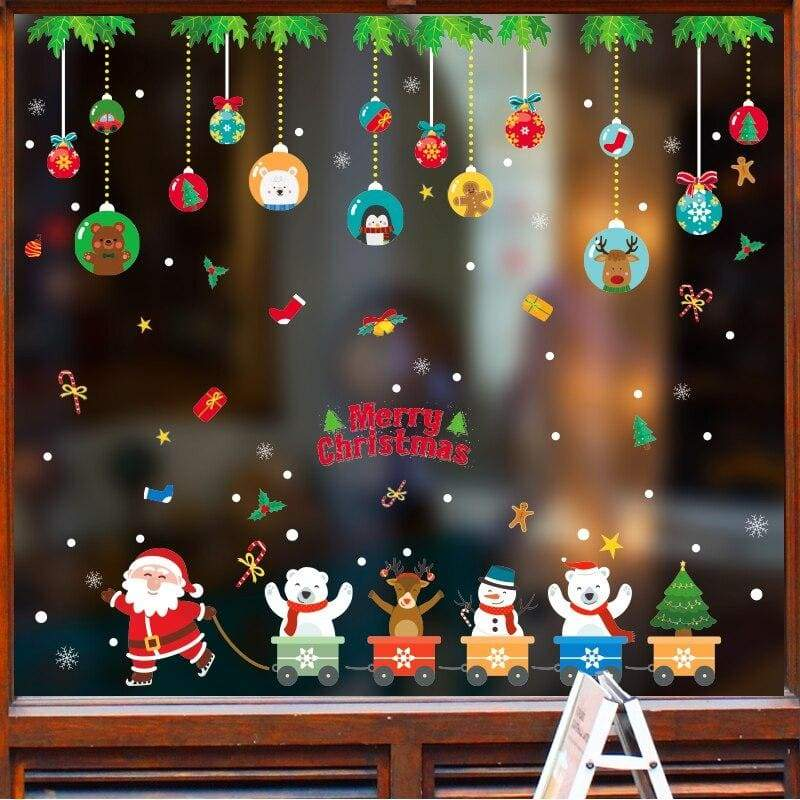 Christmas wall stickers - no.5 - decoration
