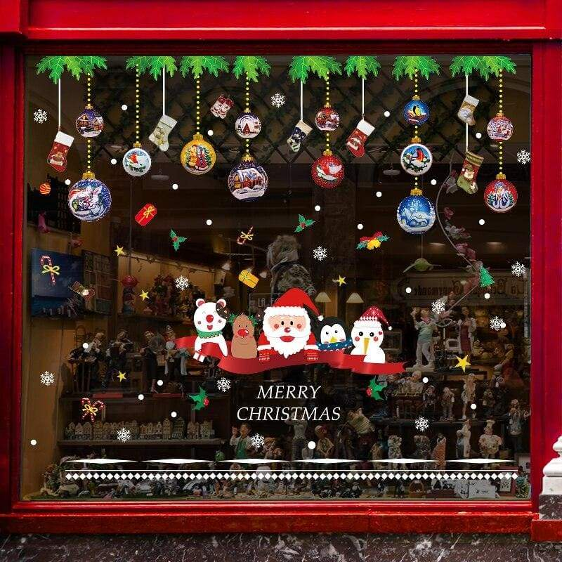 Christmas wall stickers - no.6 - decoration