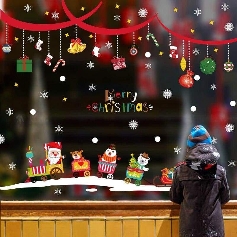 Christmas wall stickers - no.8 - decoration