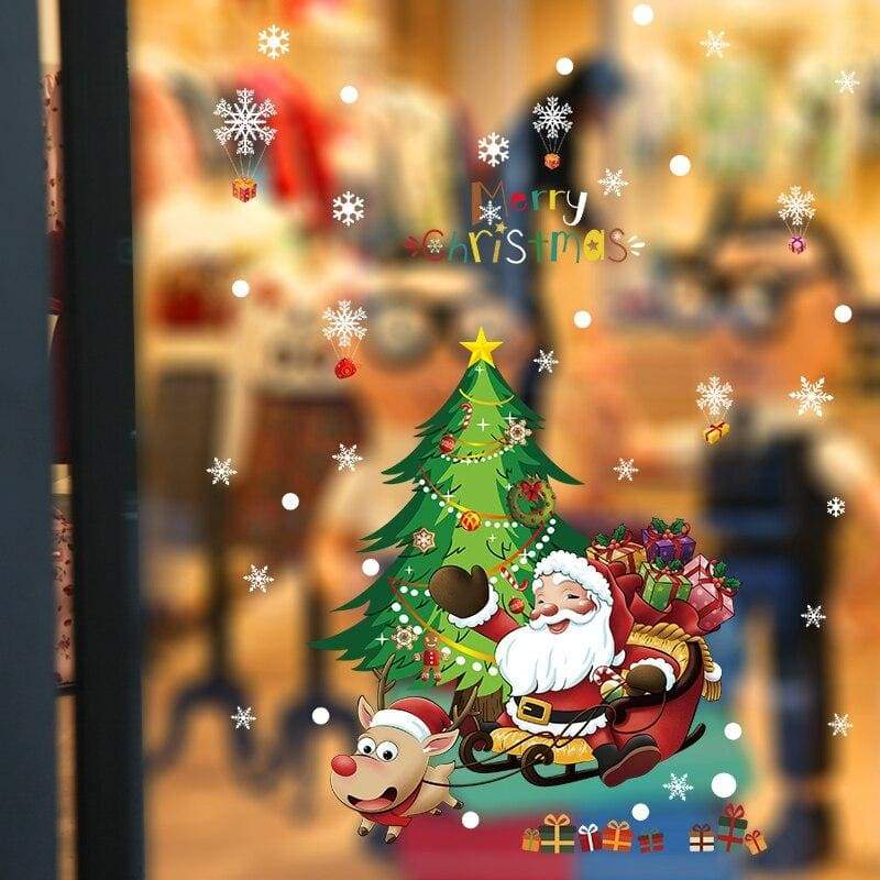 Christmas wall stickers - no.9 - decoration