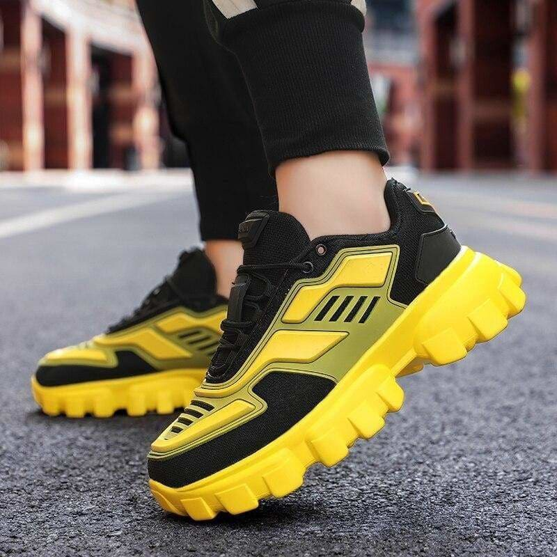 Chunky trainers footwear breathable shoes - casual