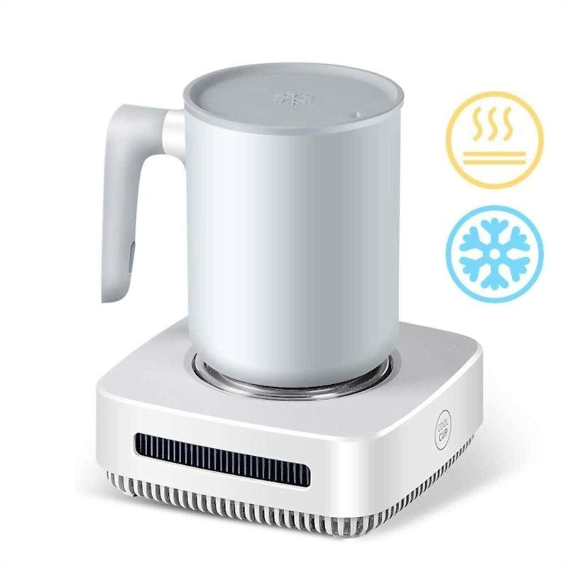 Coffee warmer smart cup - white 220v - smart gadgets