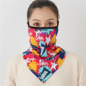 Cotton face cover scarf - mst-14
