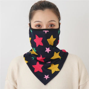 Cotton face cover scarf - mst-17