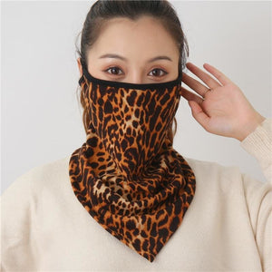 Cotton face cover scarf - mst-2