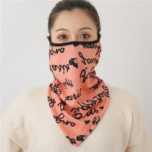 Cotton face cover scarf - mst-24