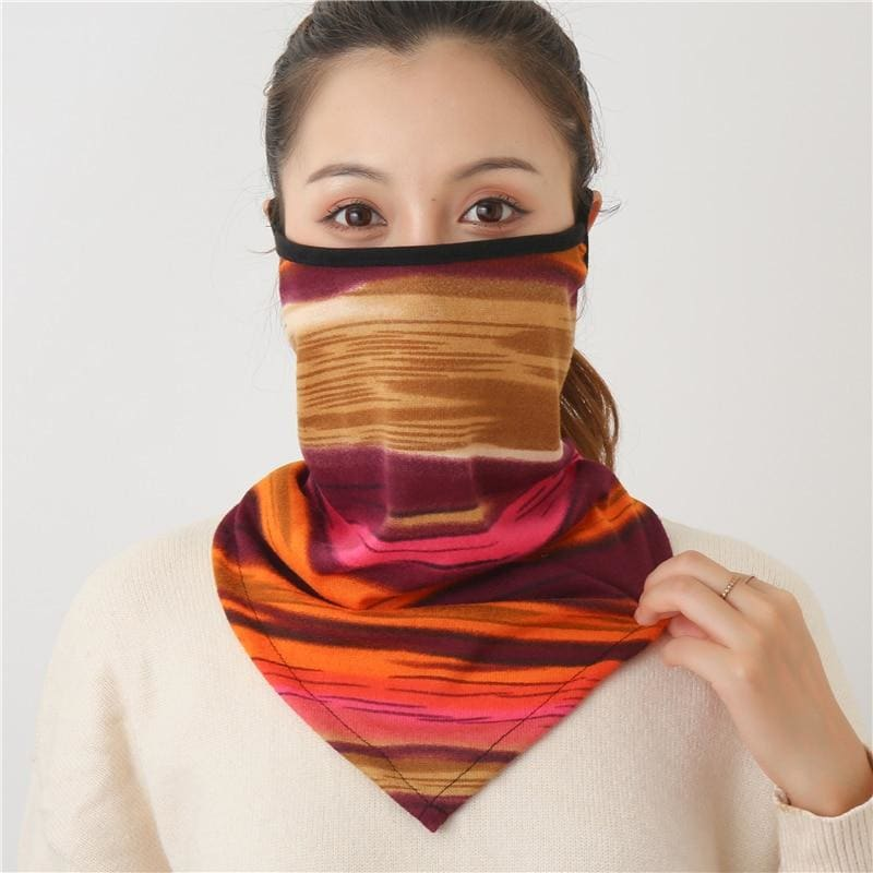 Cotton face cover scarf - mst-26