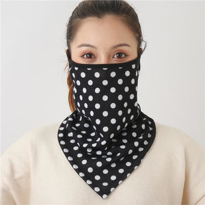 Cotton face cover scarf - mst-29