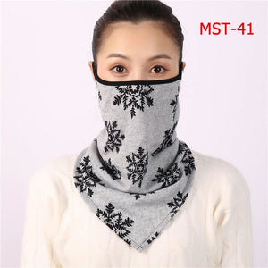 Cotton face cover scarf - mst-41