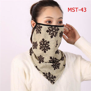 Cotton face cover scarf - mst-43