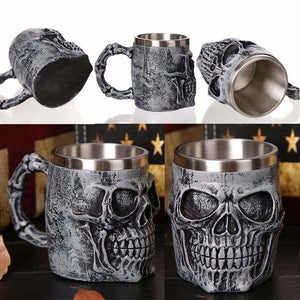 Creative skull mug just for you - mugs