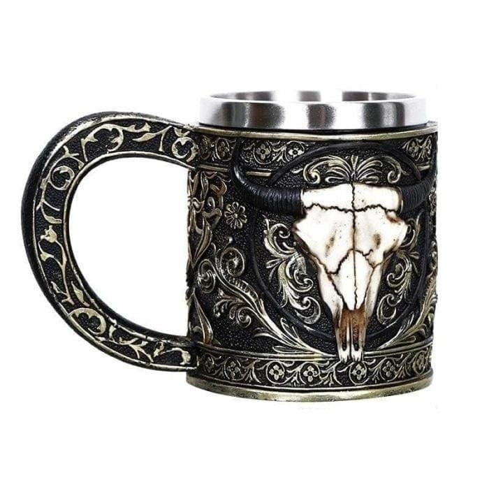 Creative skull mug just for you - s17 / 450ml(fulled) - mugs