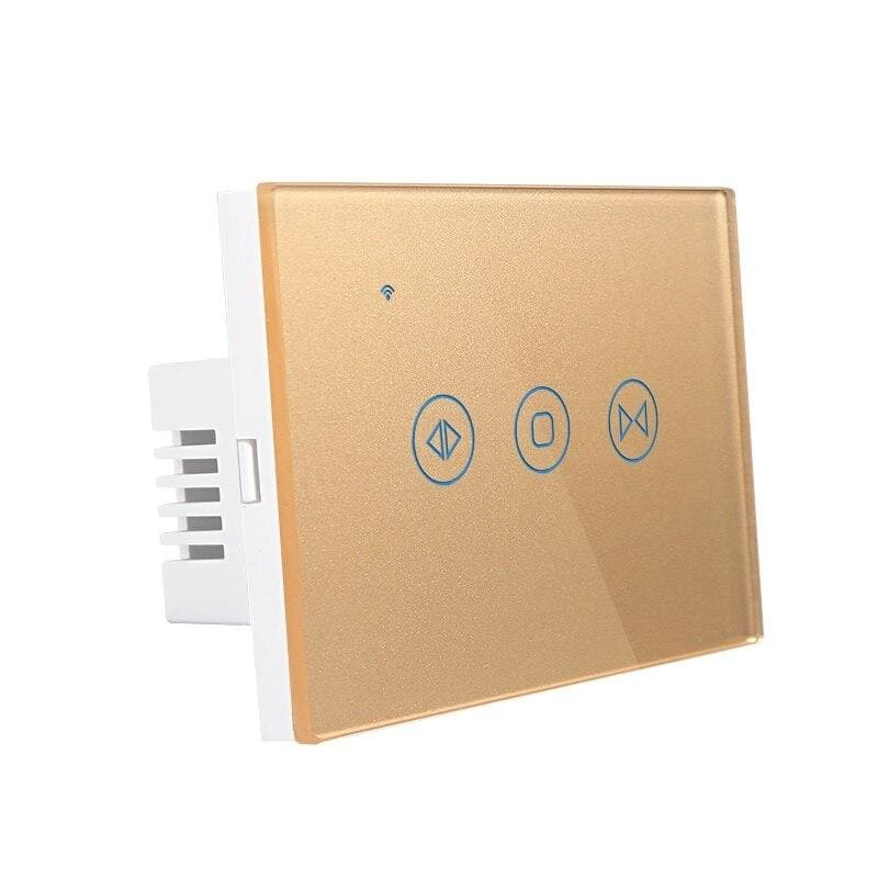 Curtain controller smart switch - gold / 433.92mhz -
