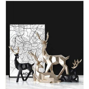 Deer sculpture - home decor 3
