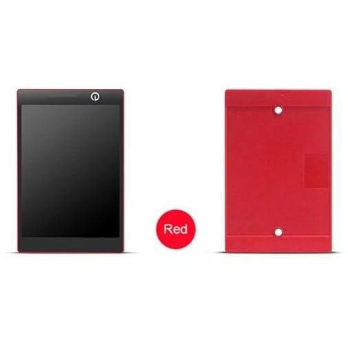 Digital writing and drawing notepad - red - smart gadgets 2