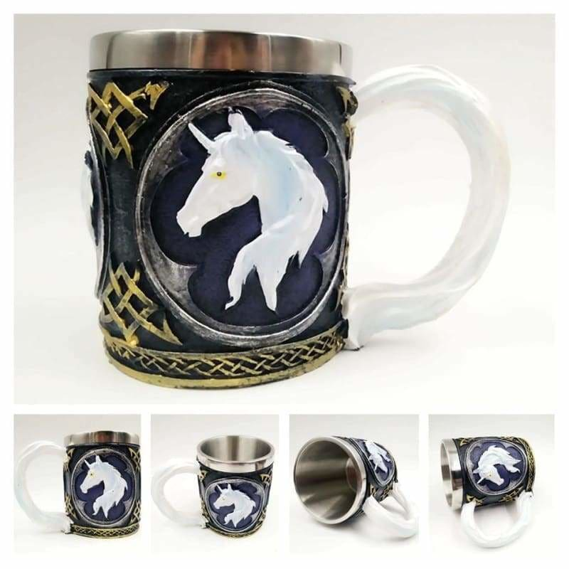 Dragon mug just for you - dark unicorn - mugs