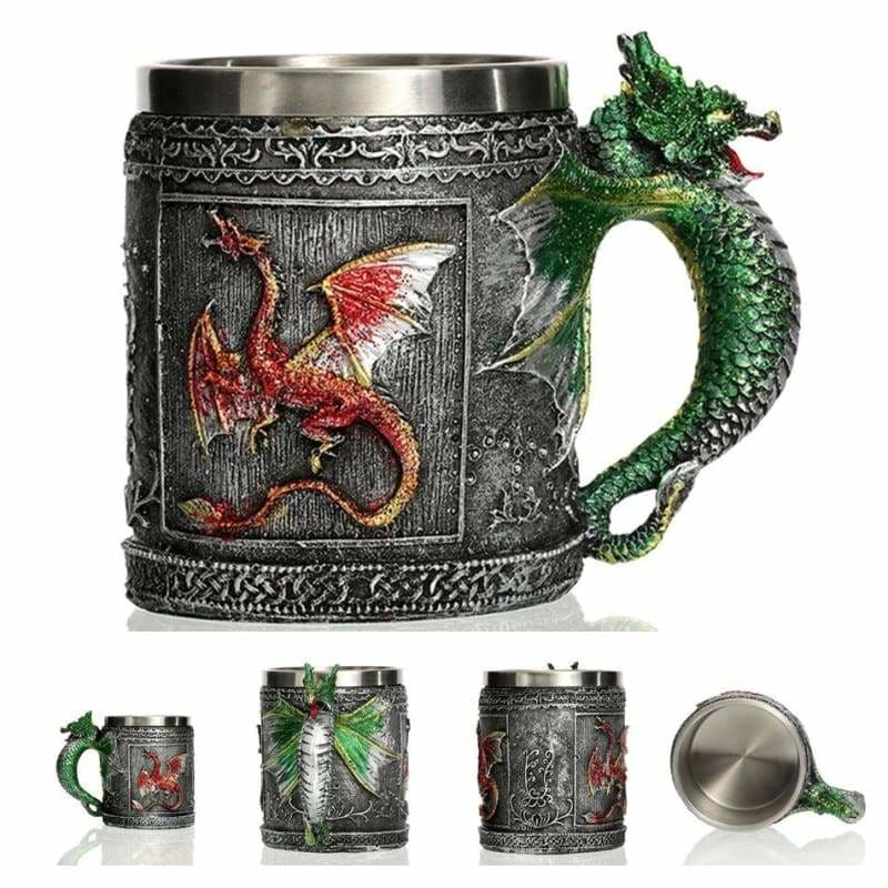 Dragon mug just for you - flying - mugs