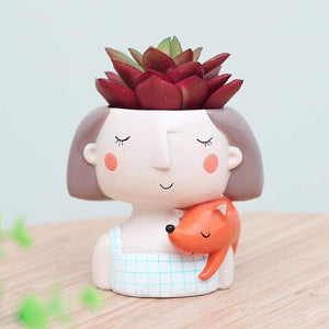 Dreamy girl flower pots - & planters