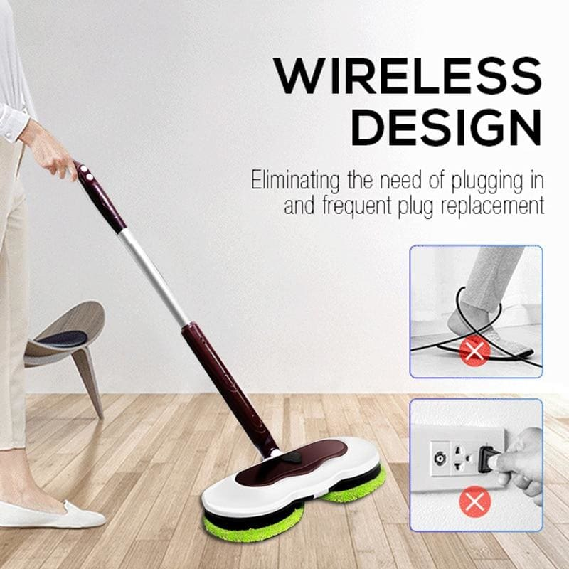 Electric mop - smart home cleaning