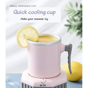 Fast cooling cup - smart gadgets